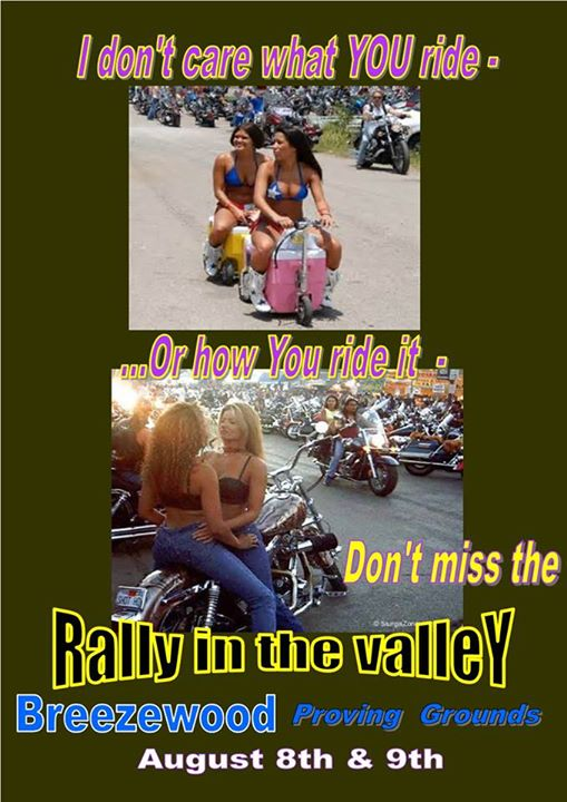 Bikes In The Valley Rally In The Valley