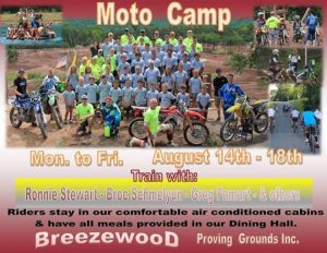 Breezewood Proving Ground Moto Camp