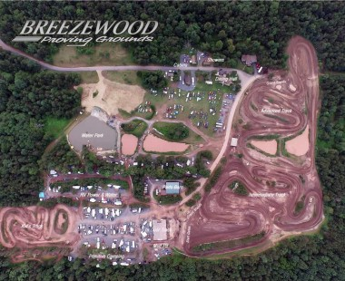 Breezewood Proving Grounds Arial Photo